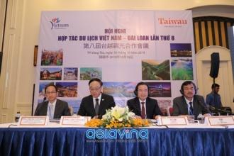 Hội nghị hợp tác du lịch Việt Nam - Đài Loan lần thứ 8